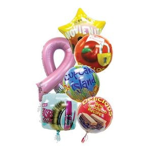 Custom Flexographic Printing Foil Balloons & Shapes