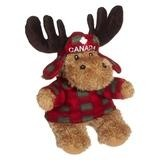Plaid Moose Stuffed Animal (8