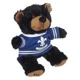 Hoodie Black Bear Stuffed Animal (8