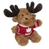 Hoodie Moose Stuffed Animal (8
